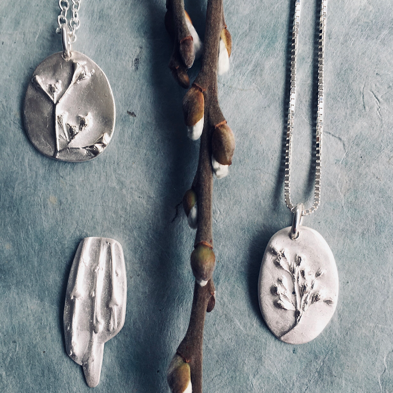 Silver Metal Clay & Nature Connection Day Workshop - Make a Memory