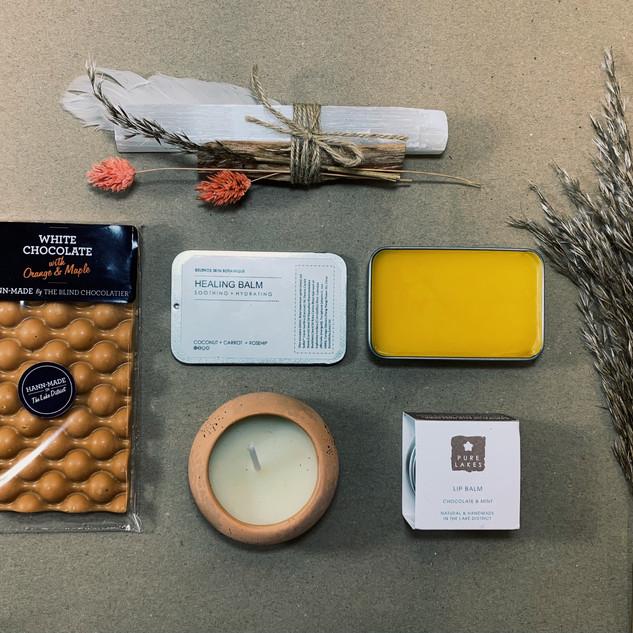 The Rewilding Shop, Lancaster, Michelle Parry, Gift Boxes