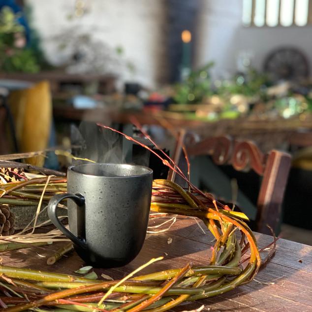 Willow Basket Making, The Rewilding, Pip Cottage.JPG