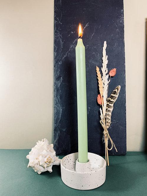 """Speckled 7/8"""" Candle Holder"""