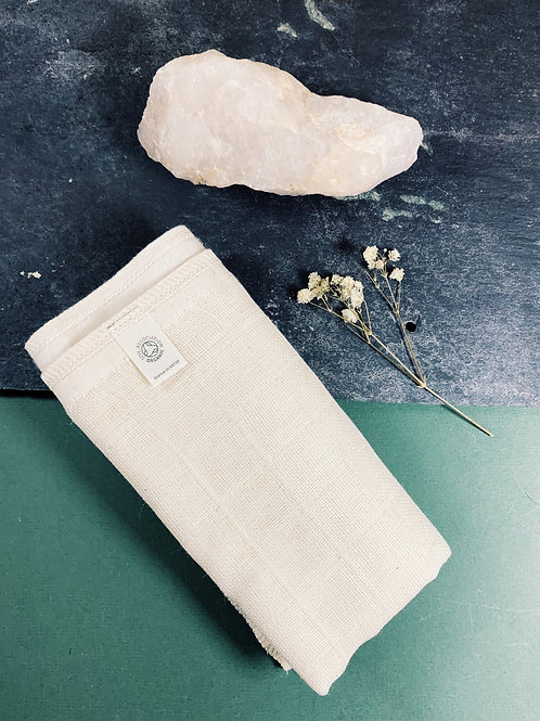 Organic Cotton Face Cloth, Two Sided