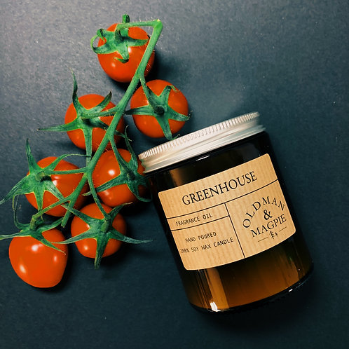 Greenhouse Candle | Old Man & Magpie
