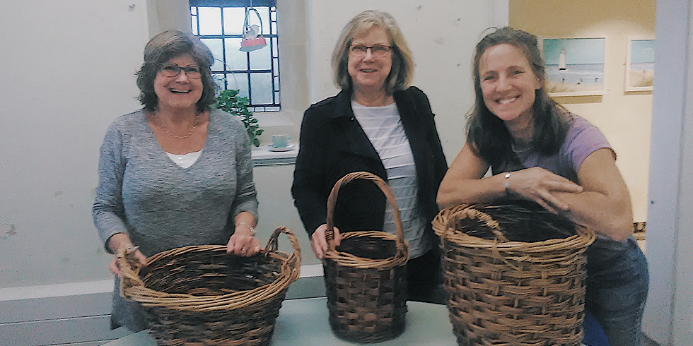 Make a Large Traditional Round Willow Basket - 2 Day Workshop