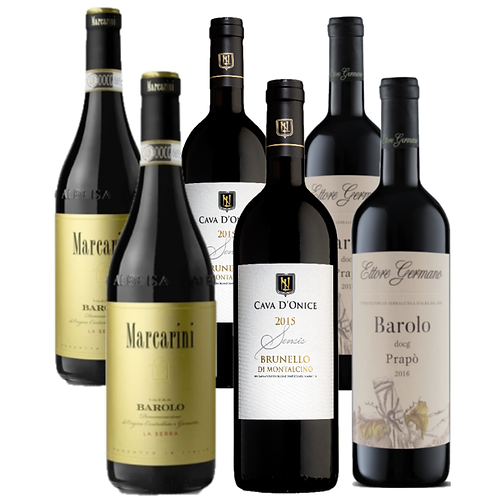 Club Brunello and Barolo Trial Pack