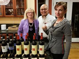 Select Tasting's Alexandra Adamek with Dr. Amy Brooks-Kayal and Mr. Rana Kayal