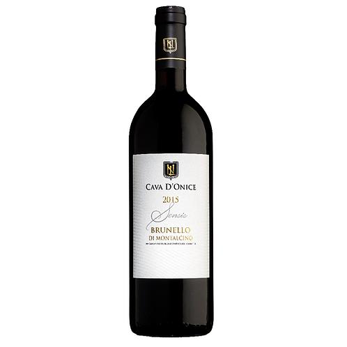 2015 Cava d'Onice Brunello di Montalcino Sensis - 96 points JS