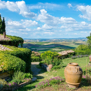 The View On The Tuscan Hills
