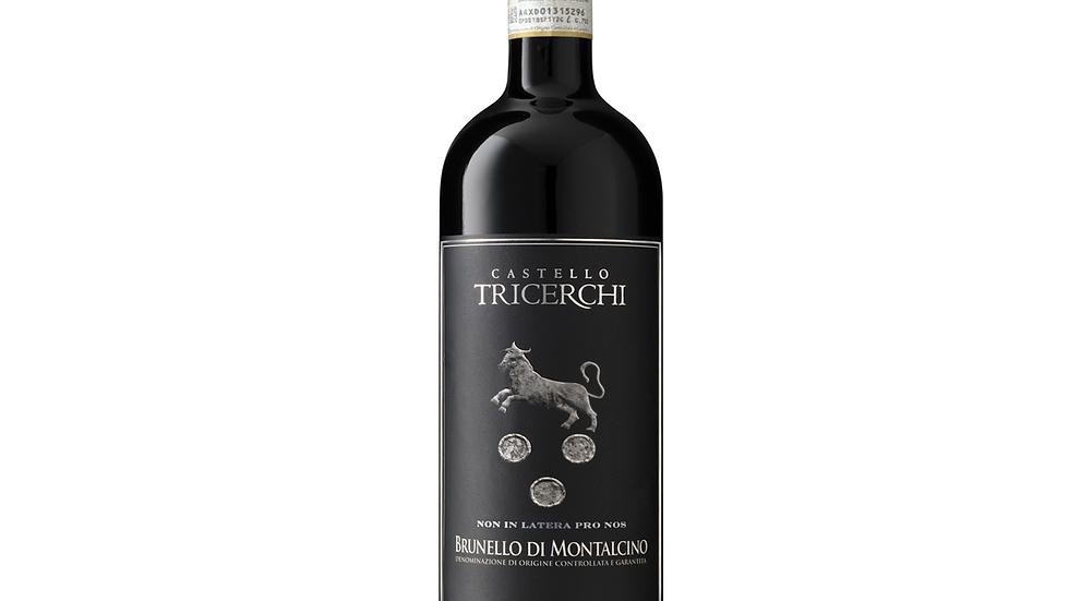 2015 Castello Tricerchi Brunello di Montalcino 93 points JS