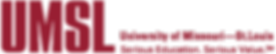 Logo and tagline of University of Missouri, Saint Louis