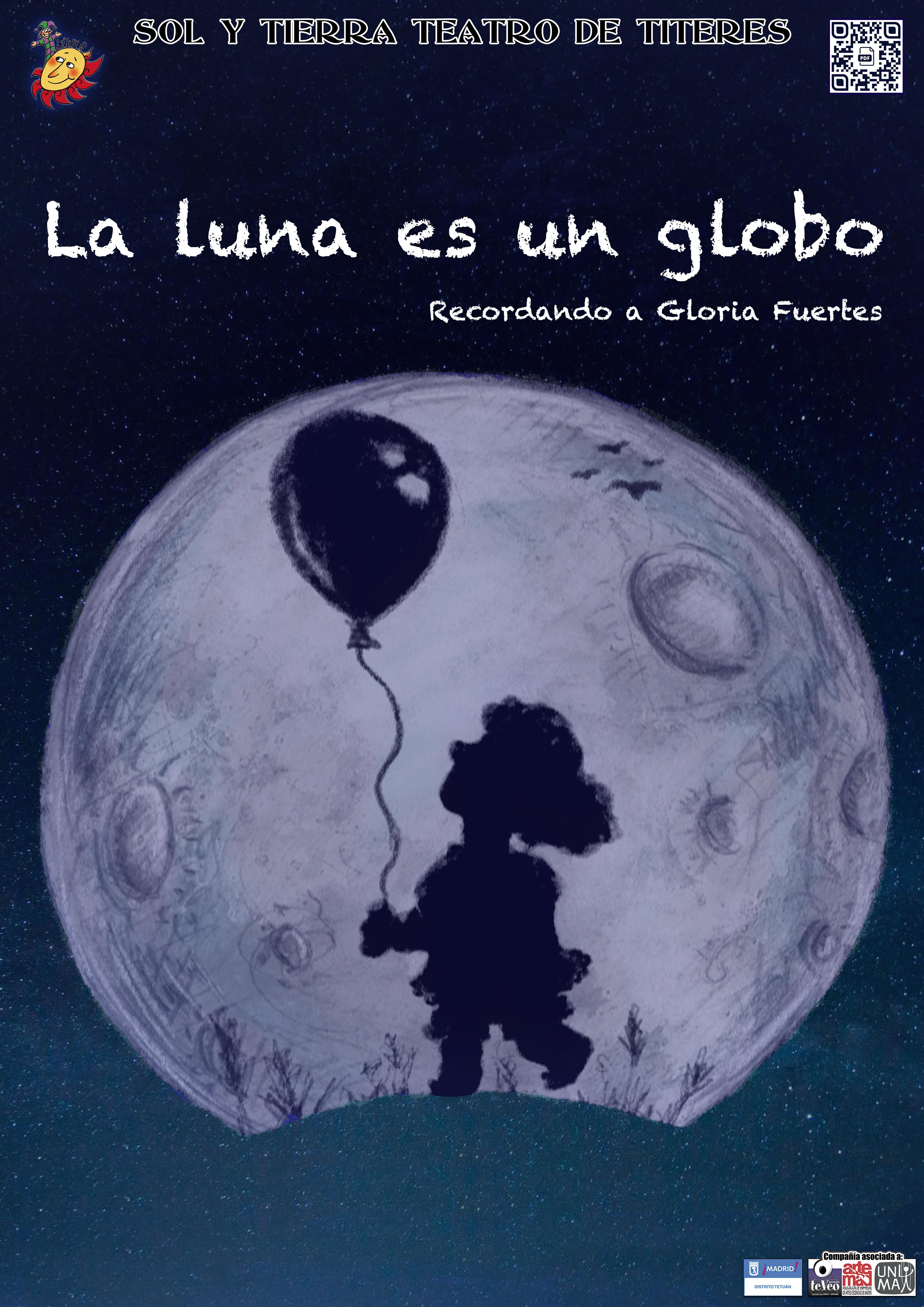 La luna es un globo