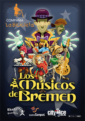 Los músicos de Bremen el musical