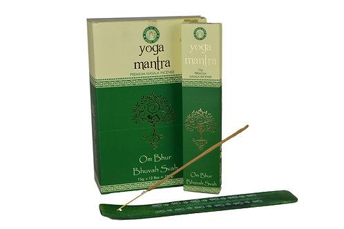 Räucherstäbchen Yoga Mantra