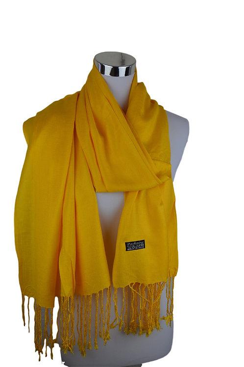 Tvamm Lifestyle Pashmina Schal (yellow)