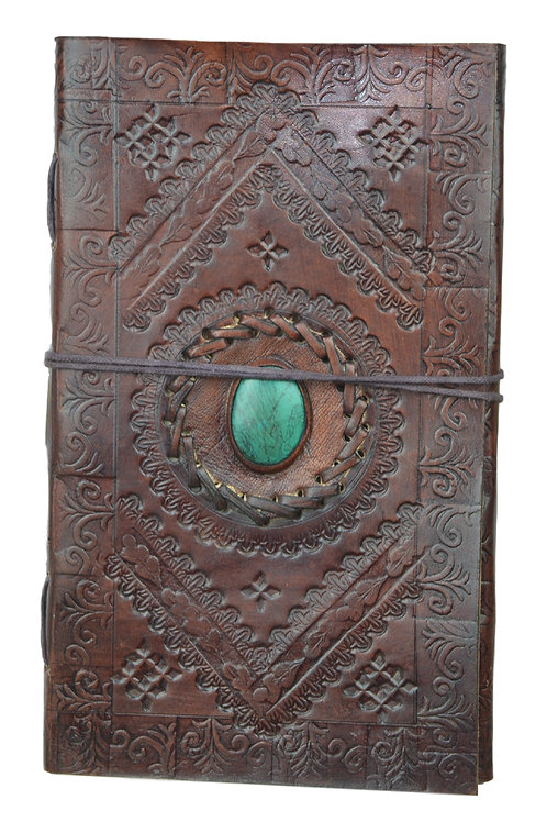 Leder Persönliches Journal Notizbücher-Model 14