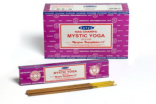 Satya Mystic Yoga Räucherstäbchen