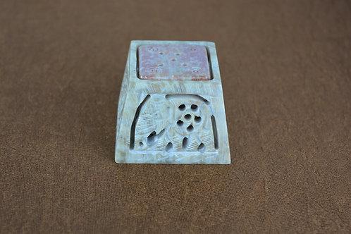 Räucherstäbchenhalter aus Stein
