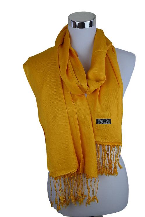 Tvamm Lifestyle Pashmina Schal (Mengo yellow)