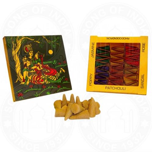 Räucherkegel Namaste 6 verschiedene Duftrichtungen