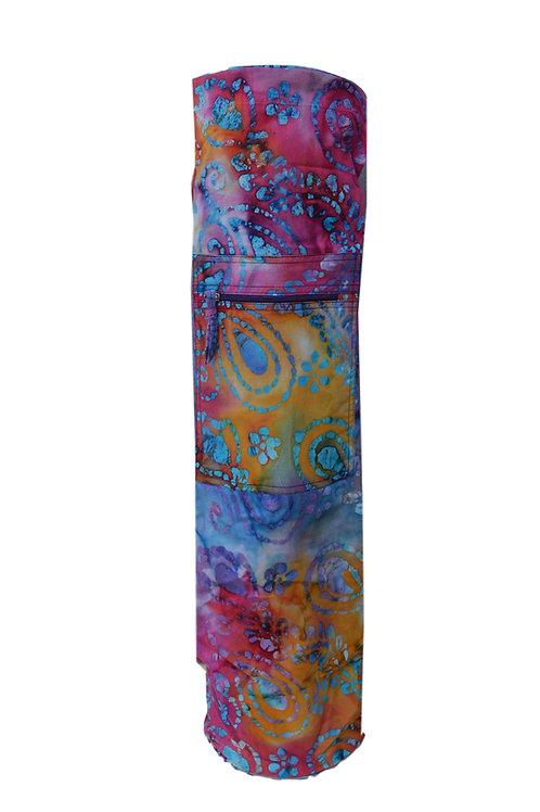 Yogamatte Tasche Batik Stoff model(04)