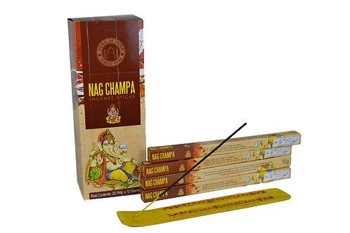 Räucherstäbchen Nag Champa pro Packung  ( 8 stück)  .