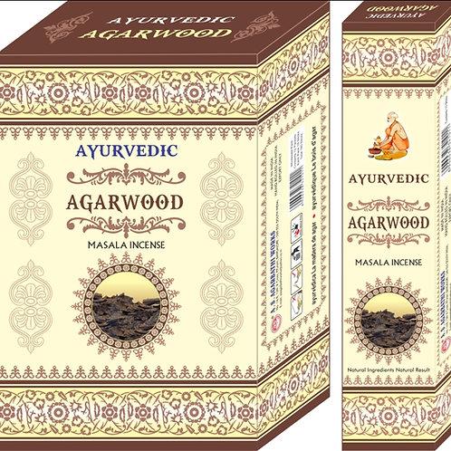 Ayurvedic Agarwood Räucherstäbchen