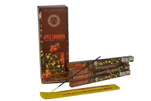 Räucherstäbchen Apfel Zimt pro Packung  ( 8 stück)