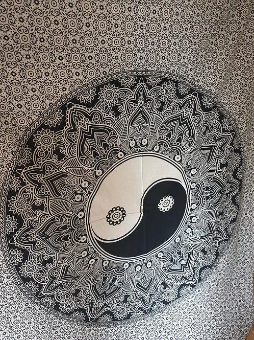 Wandtücher 100% Baumwolle  Yin yang ☯️