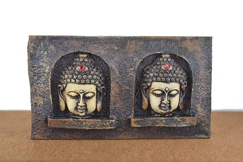 Buddha Teelicht Halter-Braun
