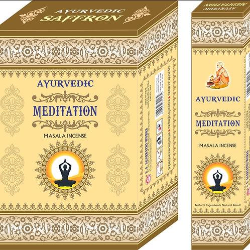 Ayurvedic Meditation Räucherstäbchen
