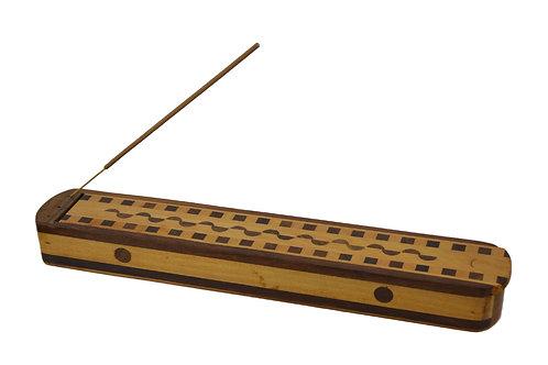 Räucherstäbchenhalter aus Sheesham Holz