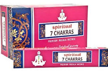 Räucherstäbchen 7 Chakras