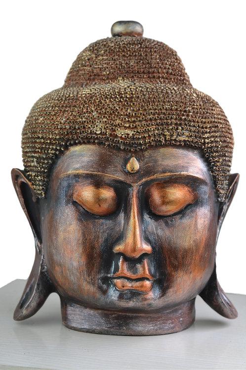 Großer Buddha Deko Kopf Figur Neu - Model 2