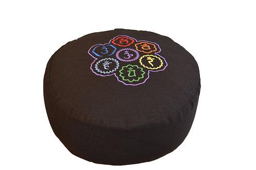 Tvamm Lifestyle Meditationskissen Zafu (schwarz)