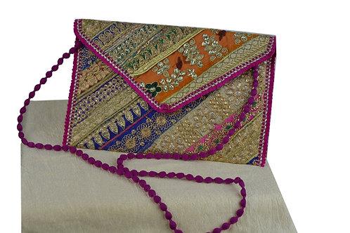 Indische handgefertigte Tasche Clutch-03