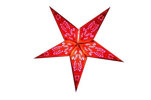 Papierstern (Red-Pink)