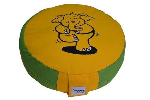 Tvamm Lifestyle Kinder Yogakissen - Gelb & Grün