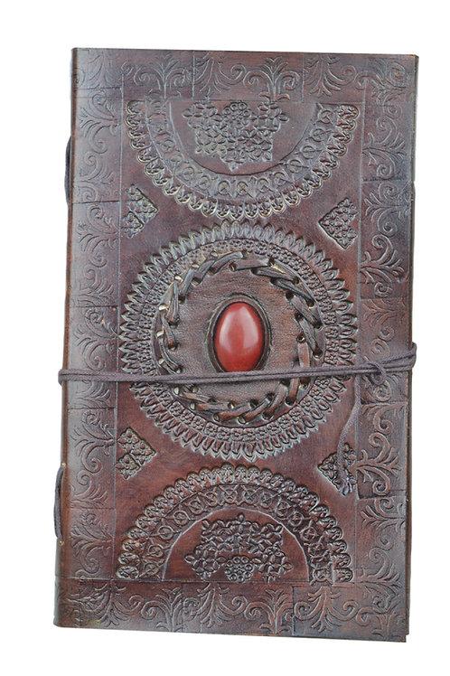Leder Persönliches Journal Notizbücher-Model 17