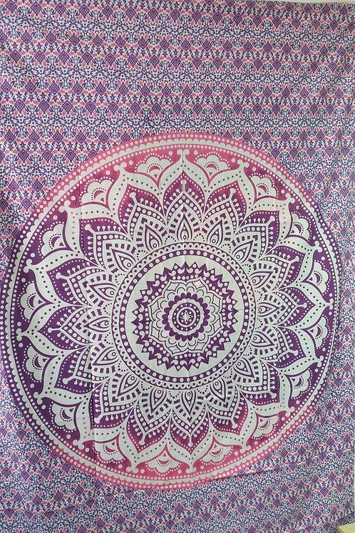 Wandtüchern / Tagesdecke Baumwolle aus Indien 210x150 cm