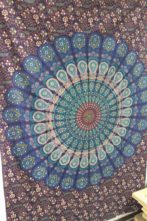 Wandtüchern / Tagesdecke Baumwolle aus Indien