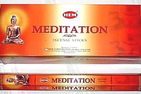 Räucherstäbchen Hem Meditation