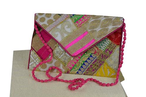 Indische handgefertigte Tasche Clutch-02