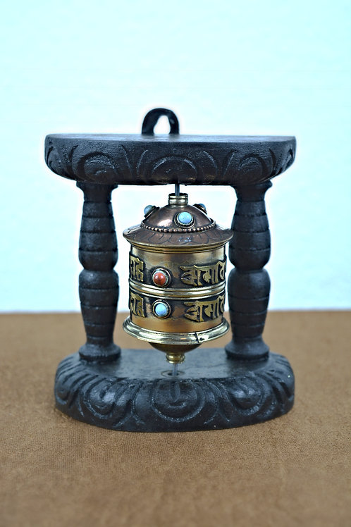 Tibeten Wand Prayer Wheel