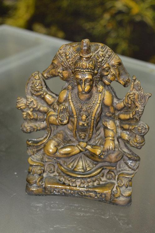 Panchmukhi Hanuman Figur 18 cm groß