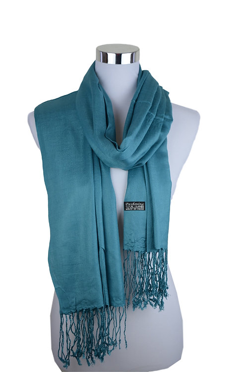 Tvamm Lifestyle Pashmina Schal (Sea green)