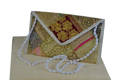 Indische handgefertigte Tasche Clutch-01
