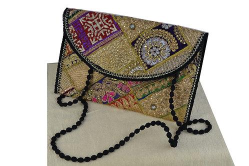 Indische handgefertigte Tasche Clutch-05