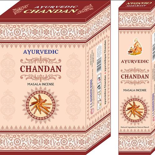 Ayurvedic Chandan/ Sandal Räucherstäbchen
