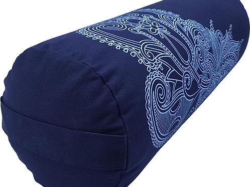 Yoga Bolster Blau Mandala
