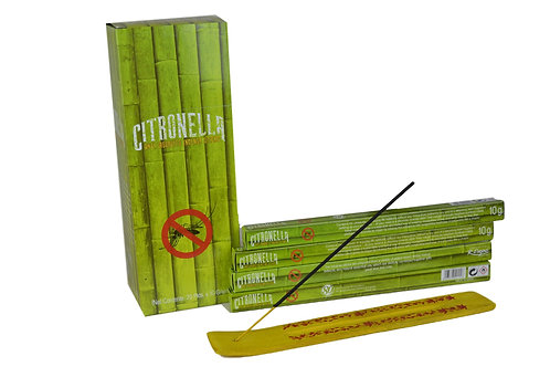 Räucherstäbchen Citronella pro Packung  ( 8 stück)  .