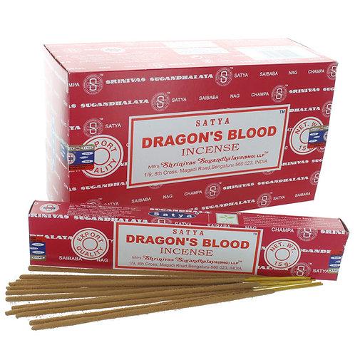 Satya Dragon's Blood Räucherstäbchen